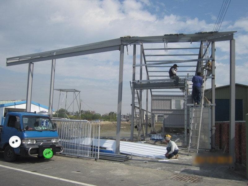 工程內容:廠房水電工程-廠房結構加強處理-廠房防水處理